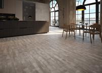 Ambientes multifuncionais integrados pelo piso