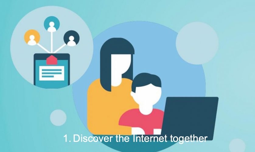 1. Discover the Internet together