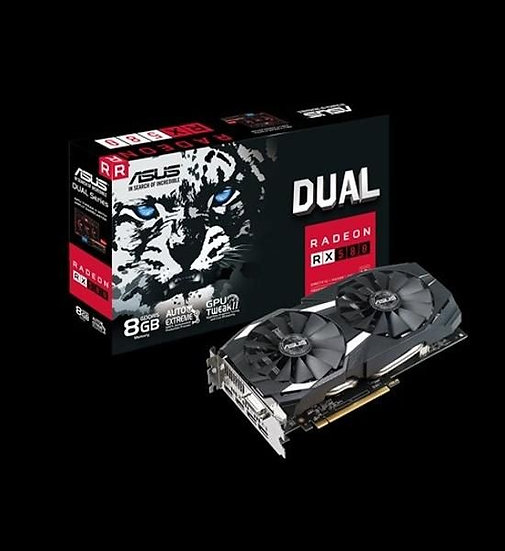 ASUS DUAL-RX580-8G GRAPHIC CARD