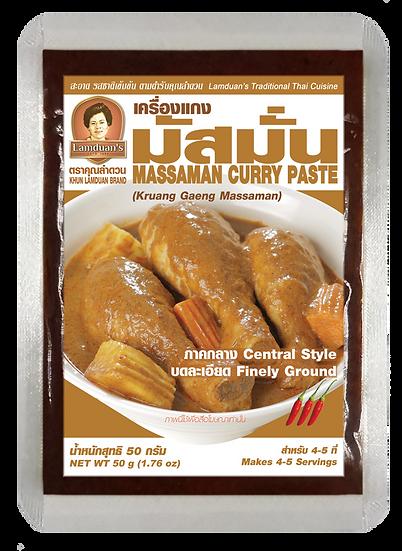 เครื่องแกงมัสมั่น MASSAMAN CURRY PASTE 50g