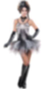 skeleton tutu dress