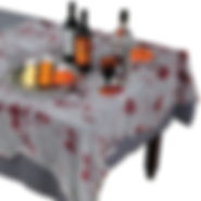 bloody gauze tablecloth.jpg