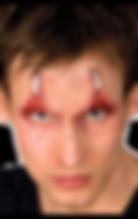 pinned eyes