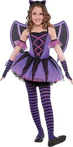bat girl purple
