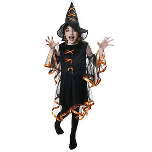 orange ribbon witch