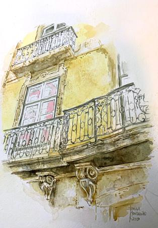 Lisbon, Rua do Alecrim