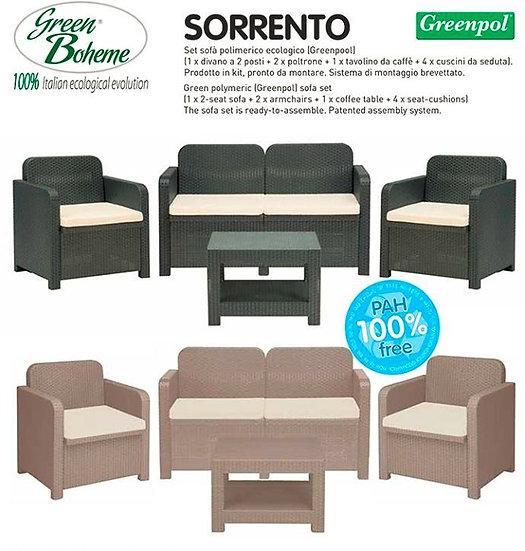 Conjunto SORRENTO (Antracite) Green Boheme