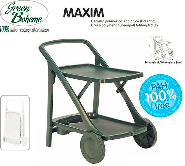 Carrinho de Apoio MAXIM (varias Cores)  Green Boheme