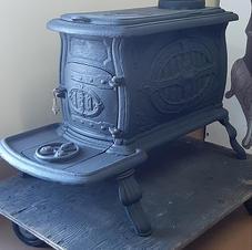 Box stove western