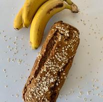 Bizcocho de plátano y avena
