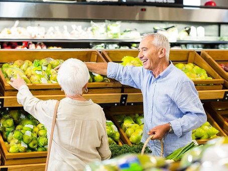 Nutritious Grocery Shopping List for Aging Adults