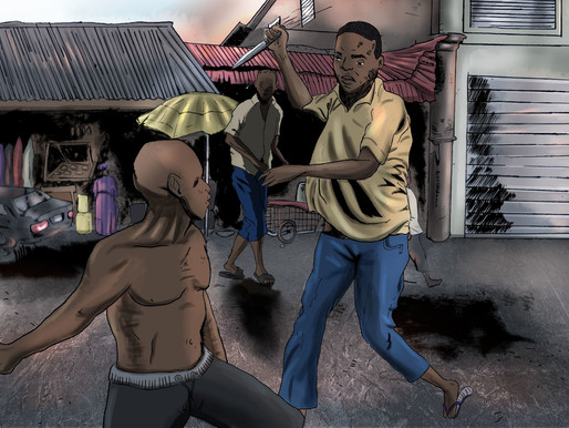 Film Review | Nigeria's Civil war and its animated aftermath in Dystopia Animatic