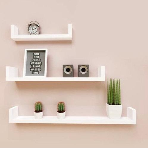 3 blocks wall shelf