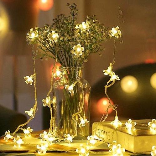 Flower styled 20LED fairy lights