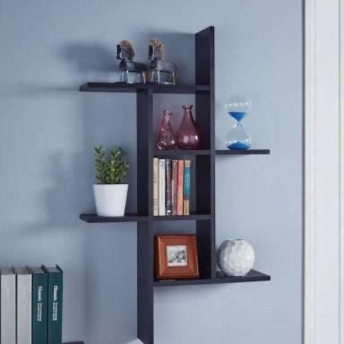 Stylish 7- Columned wall shelve