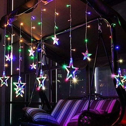 Star LED curtain fairy lights