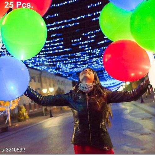 Multi-coloured LED balloons( pack of 25)