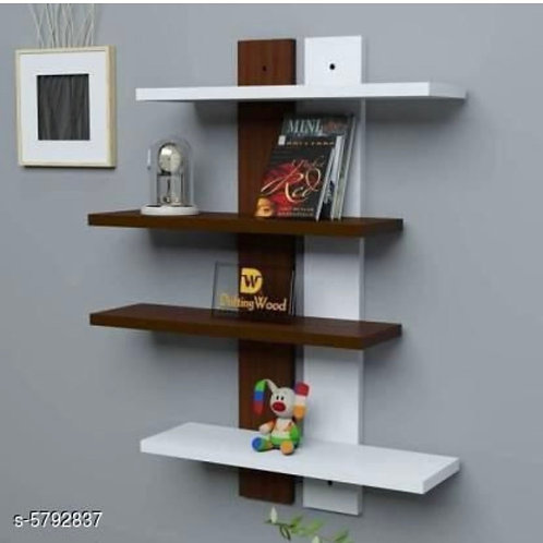 Wall shelf( Brown and white)