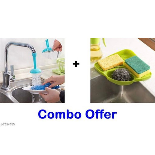 Soap stand & Tap water shower combo