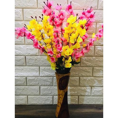 Artifitial flower petals flowering home decor