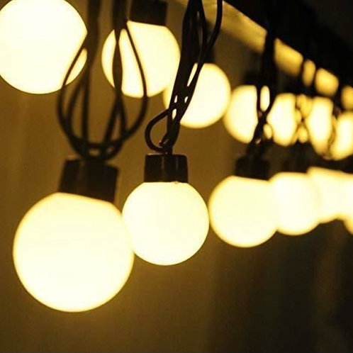 10- PVC fairy light bulb (Warm white)