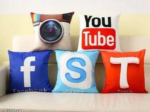 Social media cushion Covers
