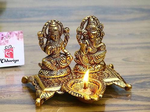 Laxmiji- ganeshji decor accent
