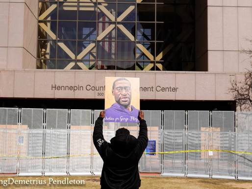The People vs. Derek Chauvin: Rally for Justice on Trial Day 1. KingDemetrius Pendleton Gallery