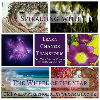 Spiralling with te Wheel of the Year