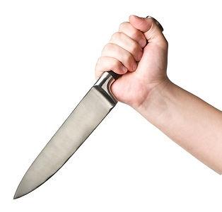 הגנה עצמית מהתקפת סכין