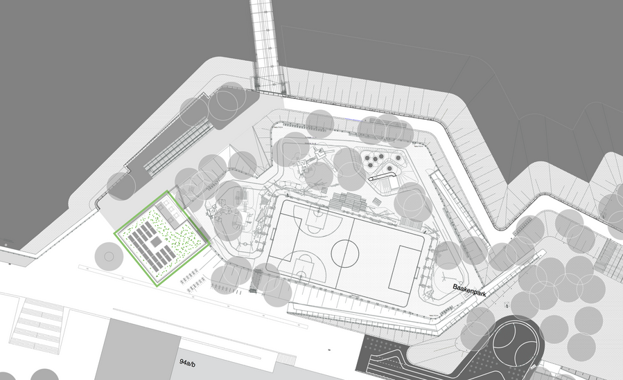 Lageplan Baakenpark - Haack + Hoepfner Architekten