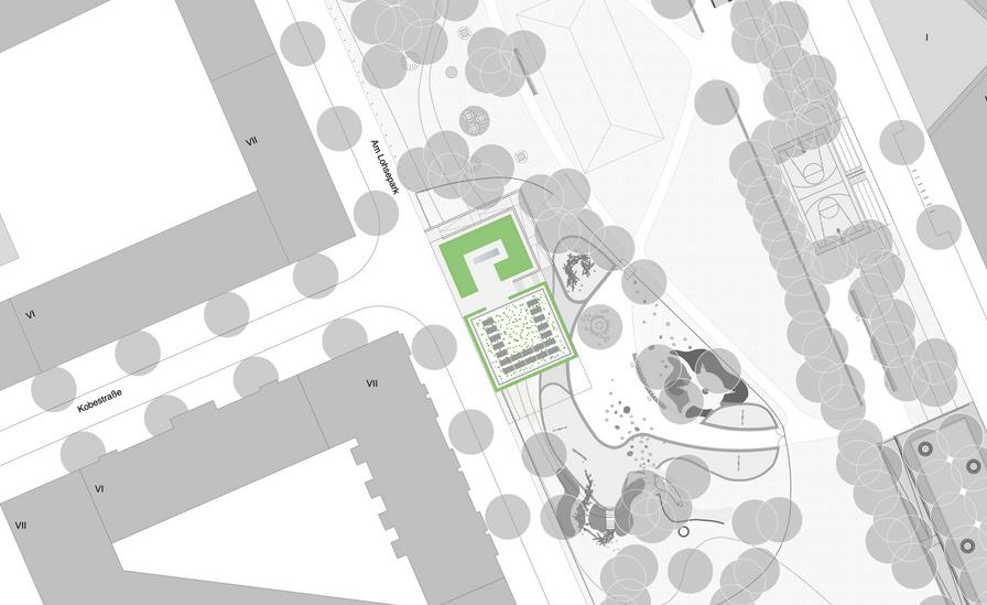 Lageplan Lohsepark - Haack + Hoepfner Architekten