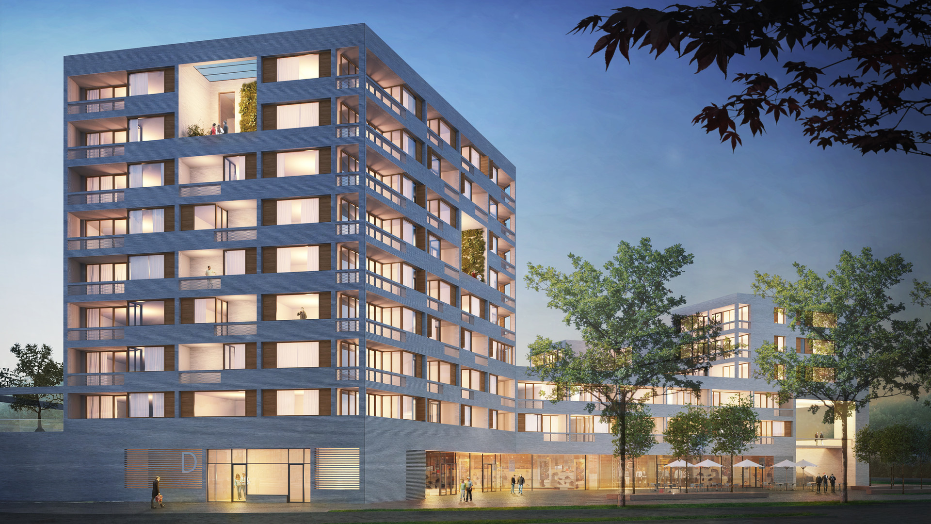 RESIDENTIAL AND OFFICE BUILDING PASING
