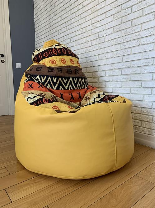 """Кресло мега ХЛ """"Африка комбо"""""""