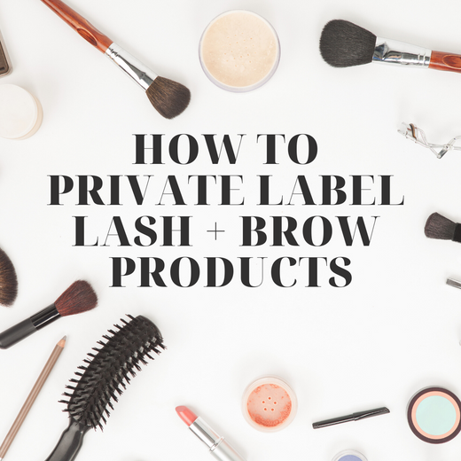 Do you want to private label your own eyelash extension products?