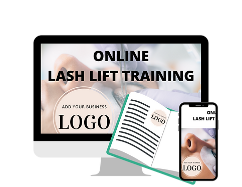 Lash Lift Video Training (Your Branding) Monthly Cost Starts @