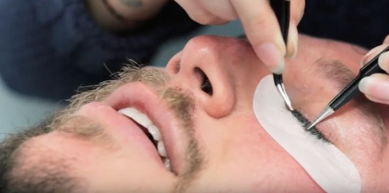 male eyelash extensions
