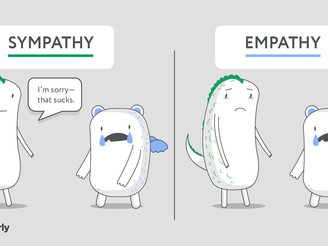 "There is no ""I"" in empathy. That is sympathy."