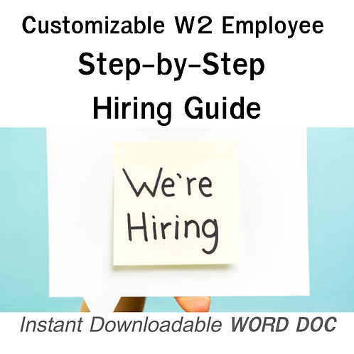 Hiring Guide Step-by-Step