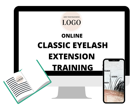 Classic Eyelash Extension Video Training (Your Branding) Monthly Cost Starts @