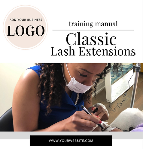 Classic Lash Training Manual (Instant Download PDF)