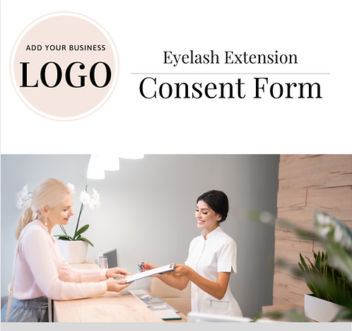 Eyelash Extension Informed Consent (MS Word)
