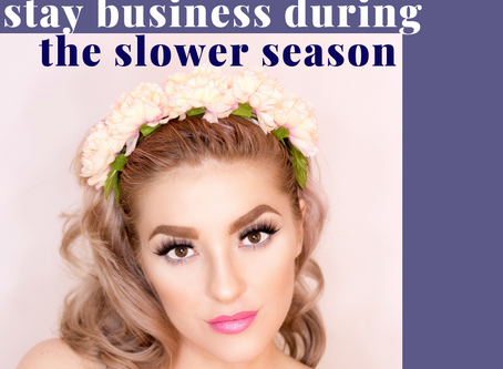 How to stay busy as a lash artist during the slower season