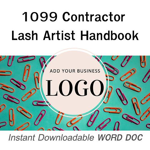 Lash Artist Handbook (1099 Contractor)