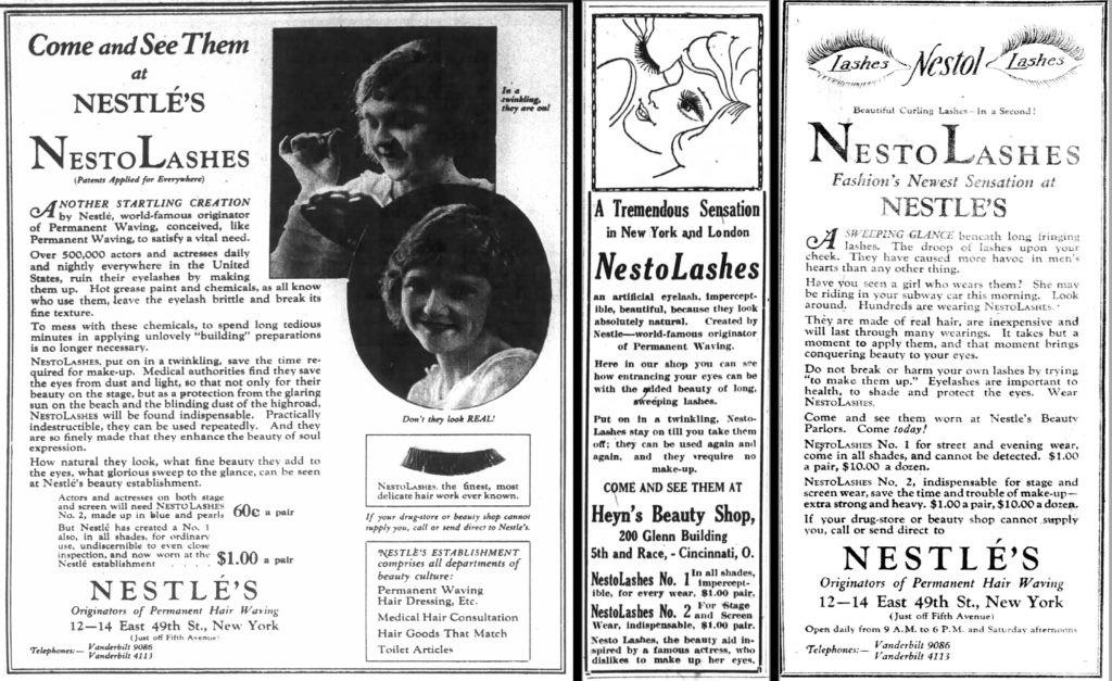 nestol-lashes-vintage-false-eyelashes-ad