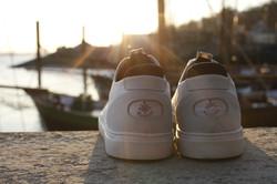 Jib Schuh mit recycelten Segeltuch BluePort