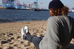 BluePort Genoa Schuh mit recycelten Segeltuch