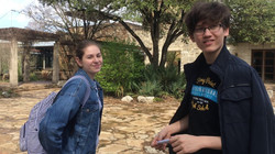 Juniors at the Wildflower Center
