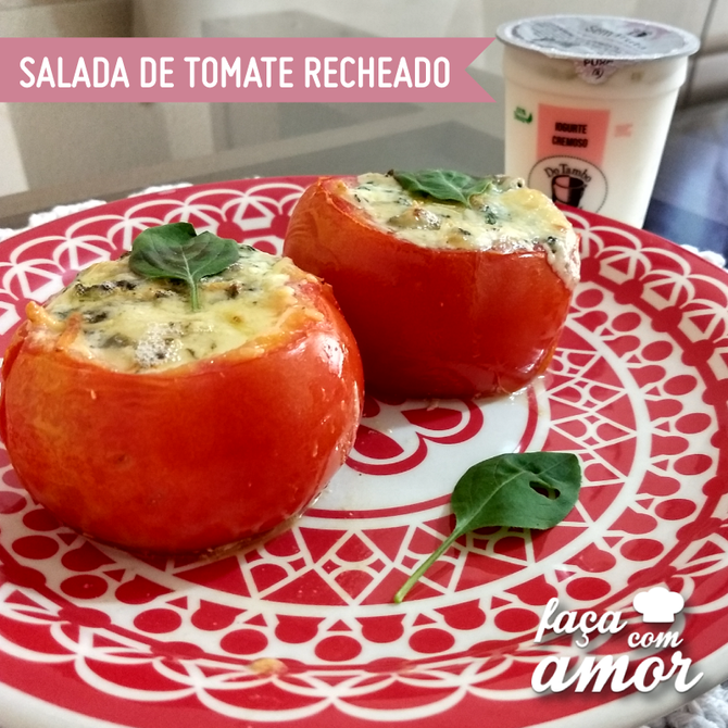 Salada de Tomate Recheado