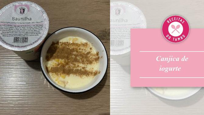 Canjica de iogurte